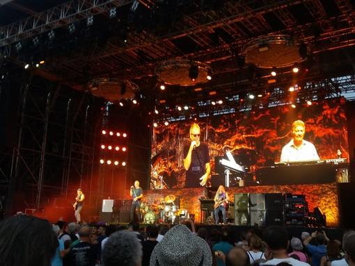 Una immagine del concerto dei Deep Purple, che ha concluso l'11 luglio Stupinigi Sonic Park
