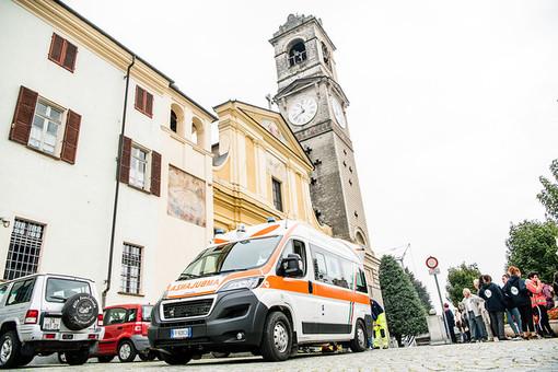 Terremoto durante la Messa a Bricherasio: ma è solo un'esercitazione