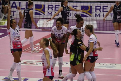 Volley, l'Igor Gorgorzola Novara domina il derby: al PalaFenera è 0-3