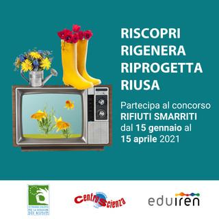 """Alla ricerca dei """"rifiuti smarriti"""" con un concorso di Iren e CentroScienza Onlus"""