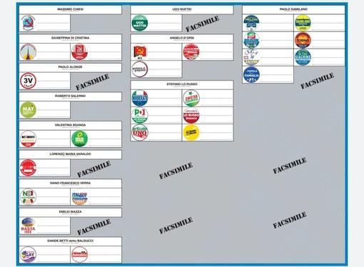 Elezioni, ecco come si presenterà la scheda elettorale: quella per il Consiglio comunale sarà azzurra. Tredici candidati sindaco