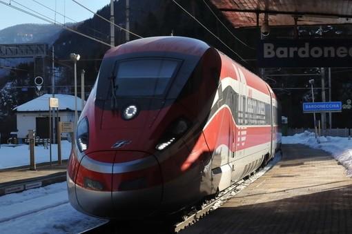 Il Frecciarossa arriva a Bardonecchia: primo treno da Napoli in perfetto orario