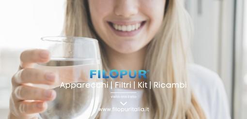 Bere acqua pulita e sicura dal rubinetto di casa? Con Filopur è semplicissimo