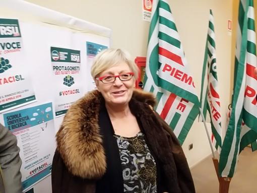 """La segretaria Cisl Annamaria Furlan a Torino: """"Città che sa aprirsi al mondo, anche se ultimamente lo ha fatto poco"""""""