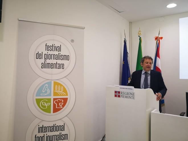 Massimo Borgia - festival giornalismo alimentare