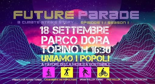 """""""Future Parade"""", il 18 settembre al Parco Dora la festa della mobilità sostenibile"""