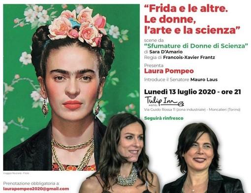 Frida Kahlo e le altre. A Moncalieri omaggio all'artista e alle donne d'arte e di scienza