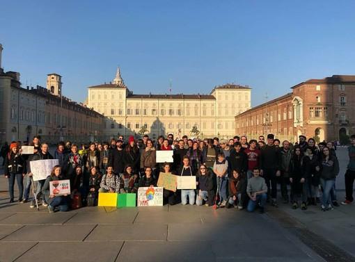 "Dalla pagina Facebook ""Fridays For Future Torino - Italy"""