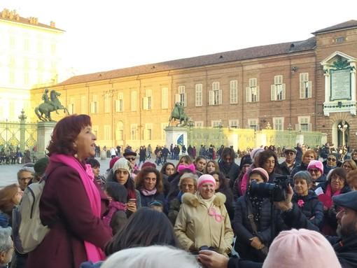 Un flash mob per dire no all'esclusione del Sant'Anna dal Parco della Salute