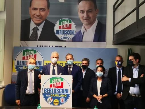 forza italia per paolo damilano