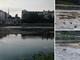 Il fiume Po e gli effetti della siccità