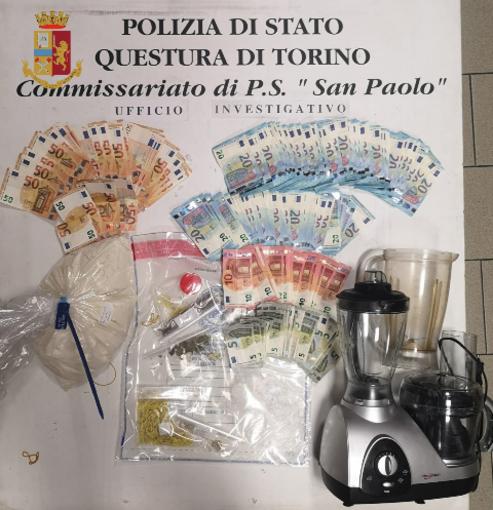 Borgo San Paolo, detenzione e spaccio di eroina: 3 arresti e una denuncia