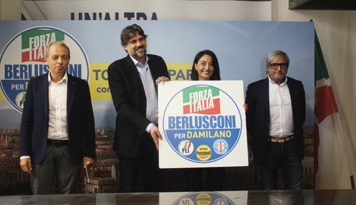 """Elezioni, Forza Italia accoglie le liste civiche e fissa l'obiettivo: """"Prendiamo il 10% e vinciamo al primo turno"""" [VIDEO]"""
