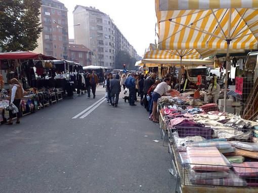 Feste di via a Torino (immagine di repertorio)