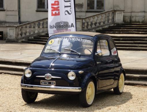 Un evento pubblico per celebrare la nascita della Fiat 500 a Stupinigi