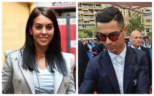immagine di repertorio di Georgina e Ronaldo