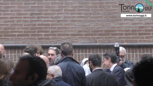 Il premier Conte è arrivato a Torino: visita al Cottolengo prima delle riunioni con Appendino e Cirio (FOTO e VIDEO)