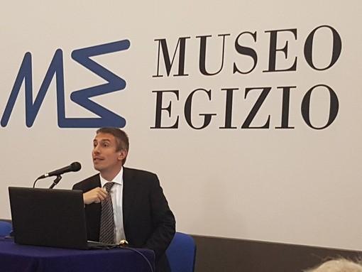 il direttore del Museo Egizio di Torino, Christian Greco