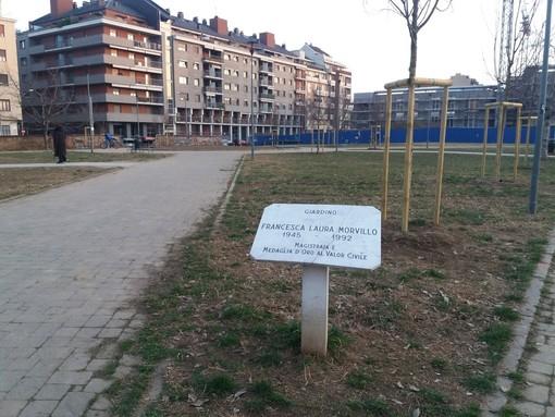 Il giardino Morvillo riprende vita: terminata la riqualificazione dell'area verde
