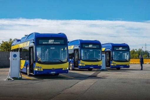 I nuovi bus Gtt