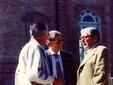 Da sinistra Matteo Paschetta, Gianfranco Falzoni e Gino Vanzi, agli albori dell'associazione AVTA (Fonte: sito AVTA)