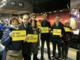 Manifestazione Sì Tav davanti a Montecitorio: Giachino e i suoi partiti alle 6 di stamattina