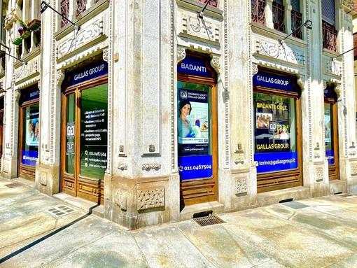 A Torino, da lunedì 10 maggio, apre la nuova agenzia di Gallas Group
