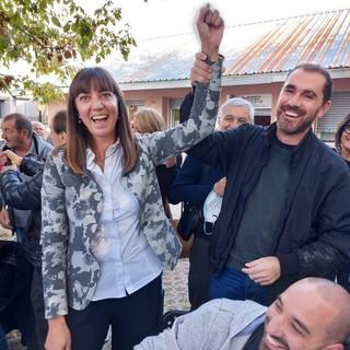 La nuova sindaca Giulia Guazzora (foto di Tancredi Pistamiglio)