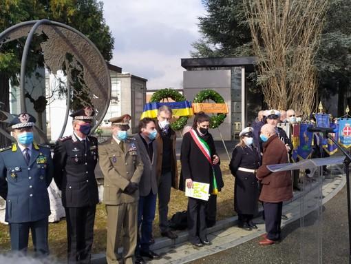 commemorazione al Cimitero Monumentale