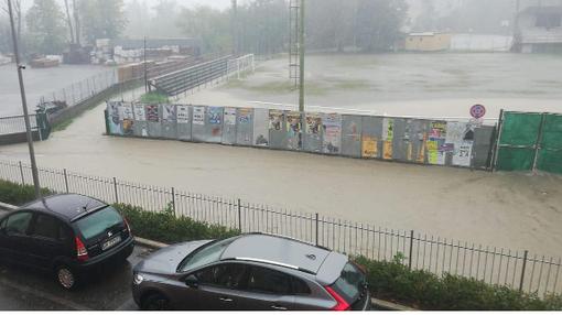IL SOLE NELL'ALESSANDRINO - Si respira dopo il diluvio, ma è rinviata Gaviese-Acqui