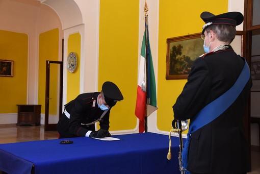 Giurano gli allievi Carabinieri a Torino, tra loro anche Edoardo Saracco, solo 17 anni, ma già campione di sci
