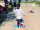bambini nel parco giochi diffuso di nichelino
