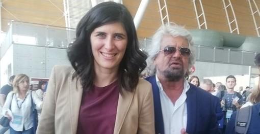 Beppe Grillo, qui con la sindaca Chiara Appendino