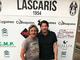 Gianni Iacobellis e il presidente del Lascaris Vincenzo Gaeta