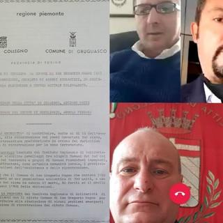 """Collegno e Grugliasco riabbracciamo i """"gemelli"""" di San Gregorio Magno"""