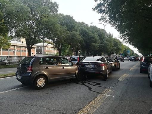 Incidente in corso Potenza: tre auto coinvolte, una persona lievemente ferita