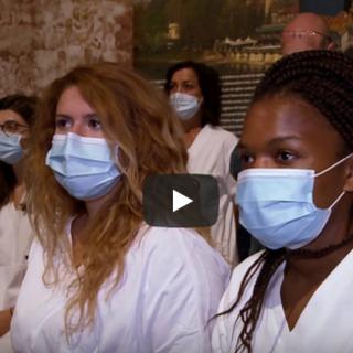 Onorificenza del Consiglio regionale ai medici e agli infermieri cubani