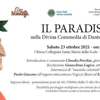 locandina evento Dante Moncalieri