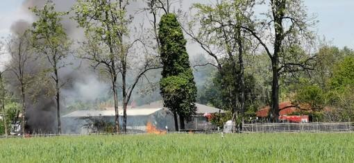 incendio campo nomadi di nichelino