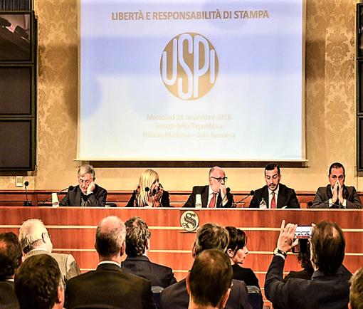 """""""Una nuova strategia per il rilancio del settore dell'editoria"""": il 26 settembre incontro Uspi a Palazzo Madama"""