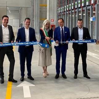 La direzione regionale del gruppo Lidl trasferita a Carmagnola: 60 milioni di investimento per 200 nuovi posti di lavoro