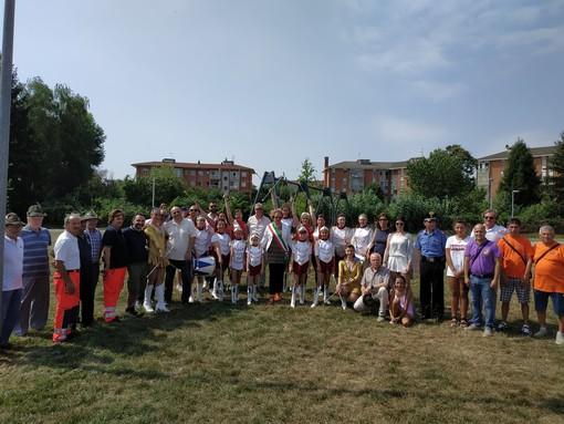 Inaugurato il parco Arpini di Orbassano