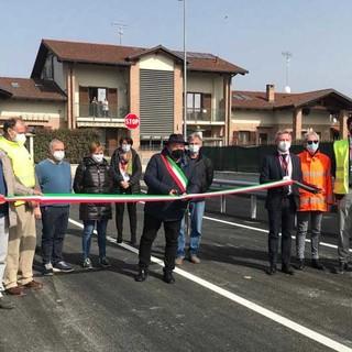 Inaugurato a Torrazza Piemonte il sottopasso che elimina due passaggi a livello