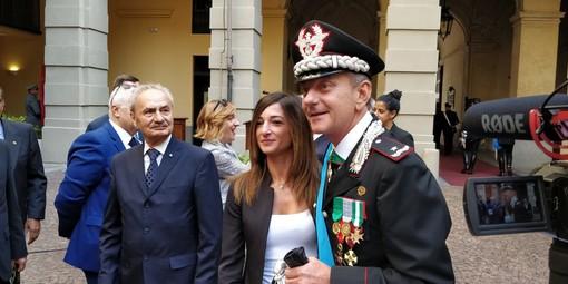"""Aldo Iacobelli nuovo comandante dei carabinieri Legione """"Piemonte e Val d'Aosta"""" [FOTO e VIDEO]"""