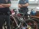 Rubano tre bici: fermati mentre scendono dal treno