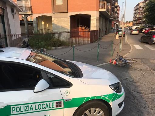 Nichelino, cade in bicicletta e finisce all'ospedale