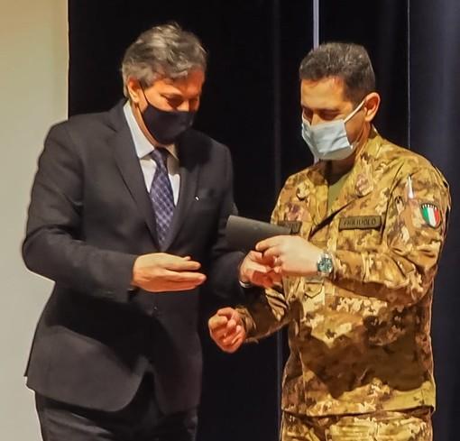 L'assessore Icardi e il generale Figliuolo
