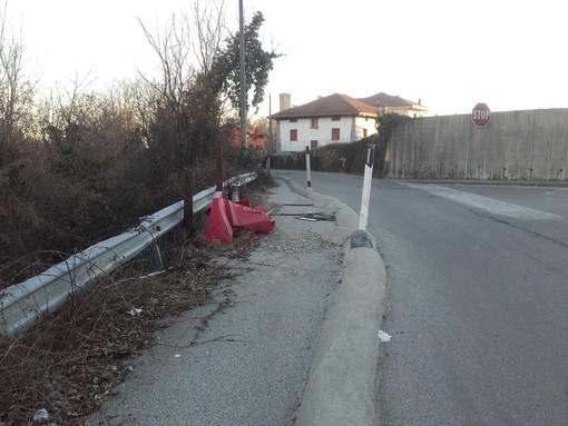 Al via i lavori di consolidamento della scarpata sulla sp 723 di Rivara