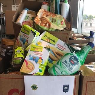 Lions Club di Moncalieri in campo per aiutare le persone in difficoltà
