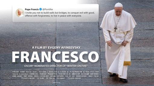Il documentario su papa Francesco al Cinema Massimo di Torino: lo presenterà il regista Afineevsky